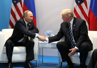 Trump says he never discussed alleged Russian bounties in calls with Putin