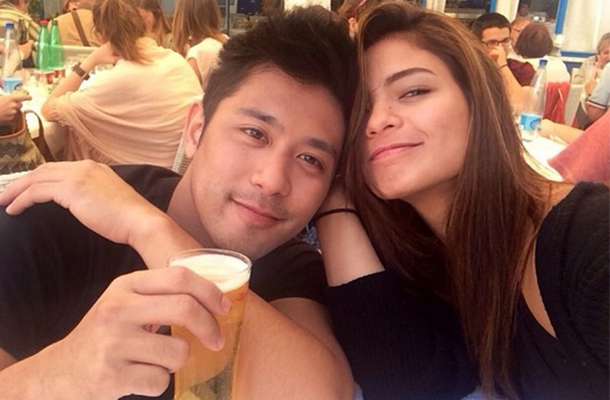 Lovi Poe and Rocco Nacino were in a relationship but rumors over their break up has circulated in 2015 but confirmed by the actress on August.