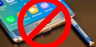 Japan Bans Galaxy Note 7
