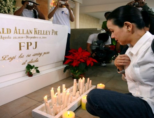 grave of FPJ