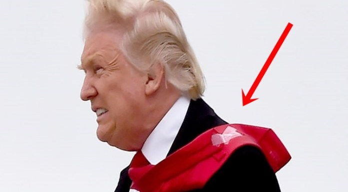 Viral: Favorite Tie Of Donald Trump Is Held Together With Scotch Tape