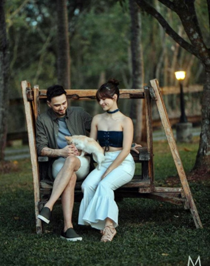 Coleen Garcia and Billy Crawford