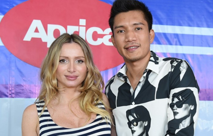 James Yap and Michela Cazzola