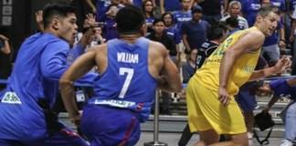 Philippines-Australia Basketball Brawl