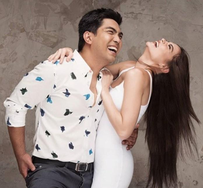 Jolo Revilla and Rhian Ramos