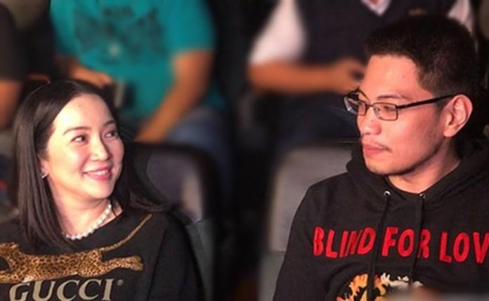 Gideon Pena and Kris Aquino