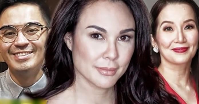 Kris Aquino Gretchen Barretto Nicko Falcis