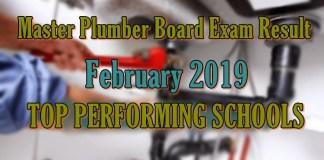 master plumber top schools