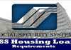 SSS Housing Loan Requirements List