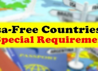 Visa-Free Countries Requirements Special