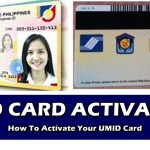 Activate UMID CARD