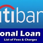 Citibank Personal Loan Fees