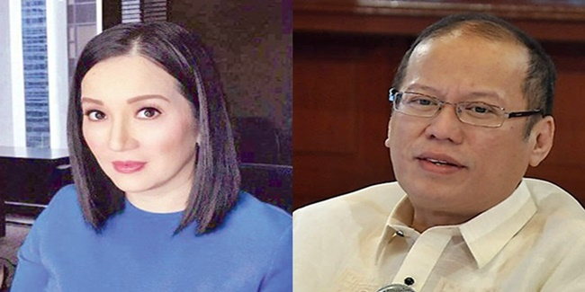 Kris Aquino, Noynoy Aquino