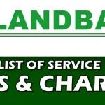 Landbank Service Fees