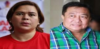 Pantaleon Alvarez, Sara Duterte