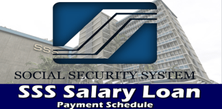 SSS Salary Loan Payment Schedule