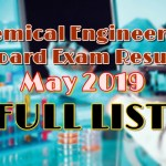 chemical engineering full list