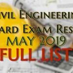 civil engineering full list