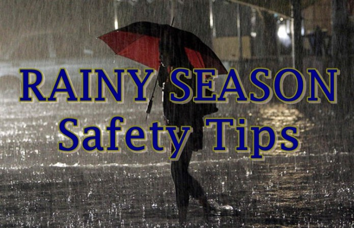 rainy season safety tips