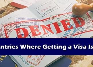 Travel Visa - Countries Hard To Get