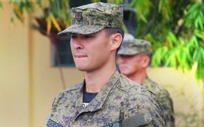 matteo guidicelli alleged reason for joining military