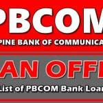 PBCom bank loan offers