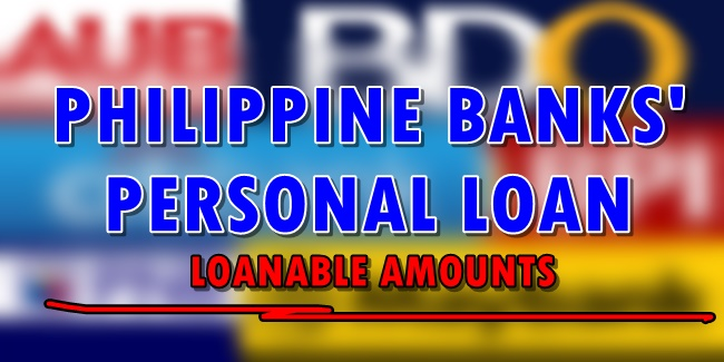 Philippine Banks Personal Loans