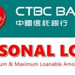 CTBC Bank Personal Loan