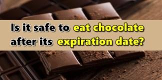Chocolate Expiration Date