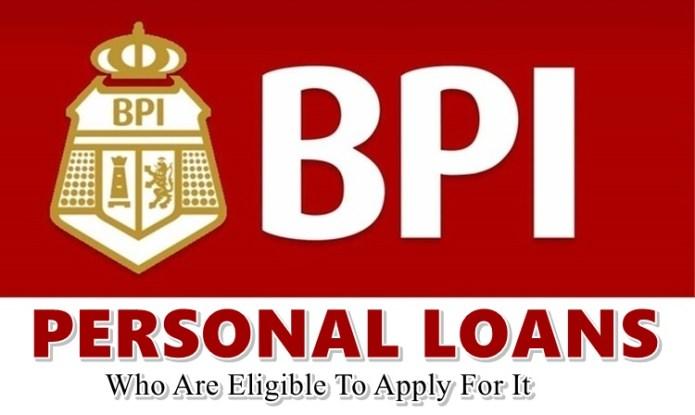 BPI Personal Loans