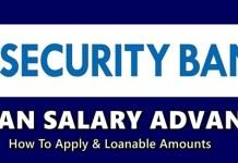 Loan Salary Advance Security Bank