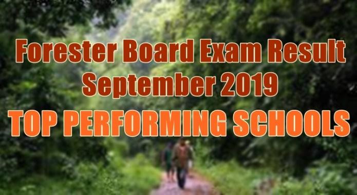 forester board exam top schools