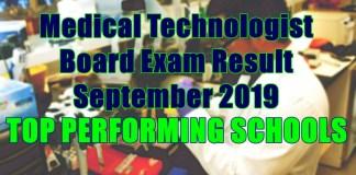 medical technologist top schools