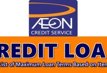 AEON Credit Loan Term