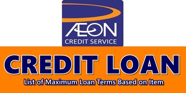 AEON Credit Loan Term
