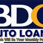BDO Auto Loan