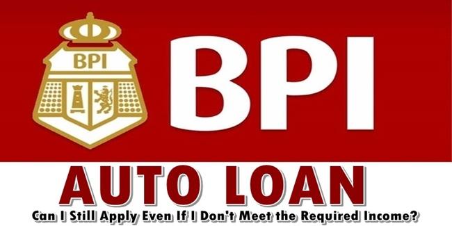 BPI Auto Loan