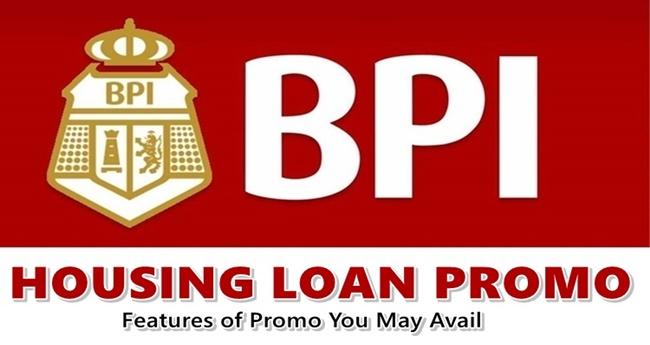 BPI Housing Loan Promo
