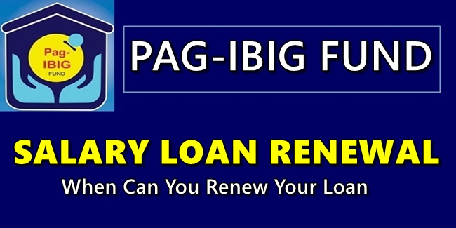 Pag-IBIG Salary Loan Renewal