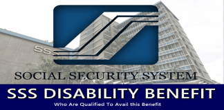 SSS Disability Benefit Who Are Qualified
