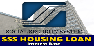 SSS Housing Loan Interest Rate
