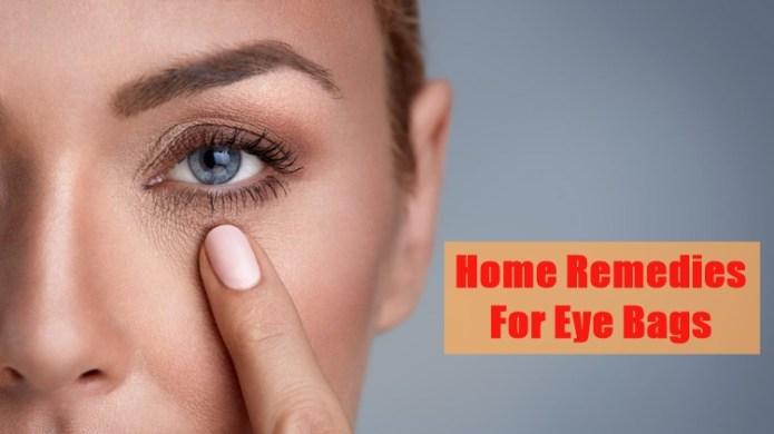 eye bags home remedies