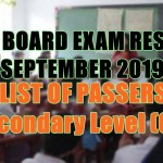 let board exam sec g-i