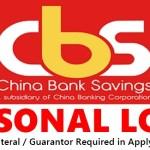 CBS Bank Personal Loan