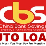 China Bank Auto Loan