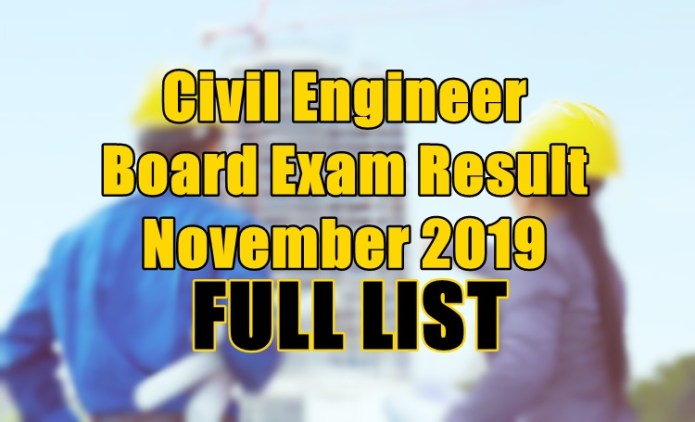 civil engineer full list