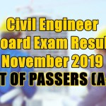 civil engineer passers a-h
