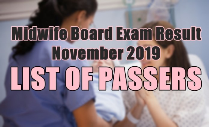 midwife board exam passers