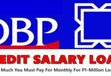 DBP Credit Salary Loan
