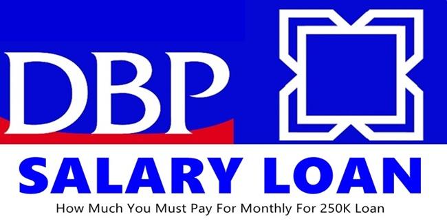 DBP Salary Loan